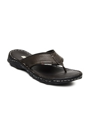 High Sierra Men Brown Leather Sandals