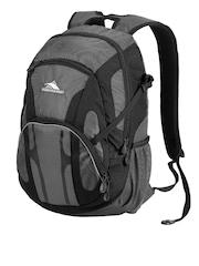 High Sierra Unisex Grey & Black Composite Backpack