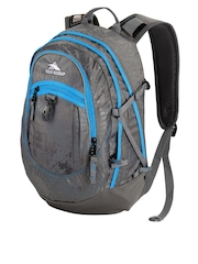 High Sierra Unisex Grey Fat Boy Backpack