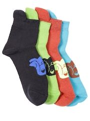 Hush Puppies Boys Set of 4 Socks