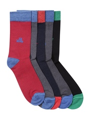 Hush Puppies Boys Set of 5 Socks