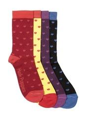 Hush Puppies Girls Set of 4 Socks