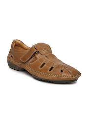 Hush Puppies Men Brown Leather Casual Shoes