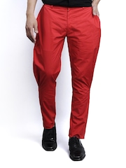 I Know Men Red Jodhpuri Pants