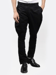 I Know Men Black Jodhpuri Pants