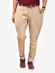 I Know Men Beige Jodhpuri Trousers
