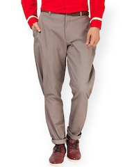 I Know Brown Tapered Fit Jodhpuri Pants