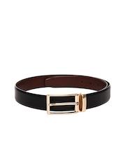 INVICTUS Men Black & Brown Reversible Leather Belt