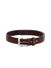 INVICTUS Men Brown Leather Belt