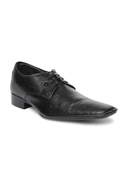 INVICTUS Forma Prime Men Black Leather Formal Shoes