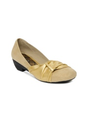 Inc 5 Women Gold-Toned Heeled Shoes