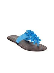 Inc 5 Women Blue Sandals