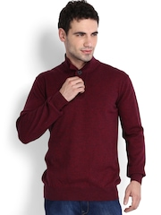 Indian Terrain Men Red Sweater