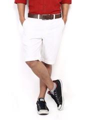 Indian Terrain Men White Shorts