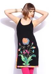 Indian by Manish Arora Women Black Trippy Taj Tunic