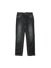 Inmark Boys Black Jeans
