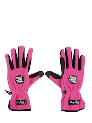 Ironclad Women Pink & Black Gloves