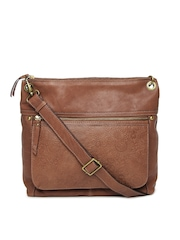 JAG Essence Leather Sling Bag