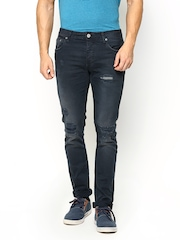 Jack & Jones Men Navy Slim Fit Jeans