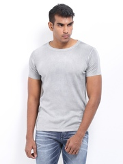 Jack & Jones Men Grey T-shirt