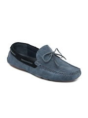 Jack & Jones Men Grey Suede Loafers