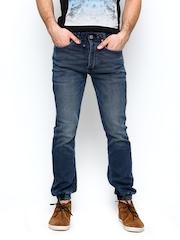 Jack & Jones Men Blue Erik Anti Fit Jeans