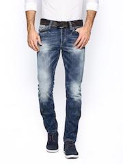 Jack & Jones Men Blue Comfort Fit Jeans
