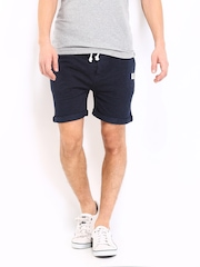 Jack & Jones Men Navy Shorts