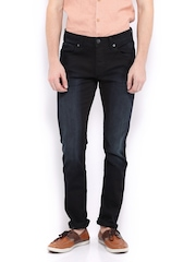 Jack & Jones Men Navy Skinny Fit Jeans