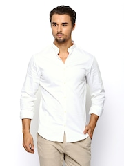 Jack & Jones Men White Formal Shirt