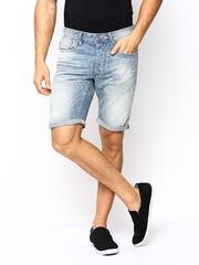 Jack & Jones Men Blue Denim Shorts