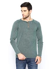 Jack & Jones Men Green Sweater
