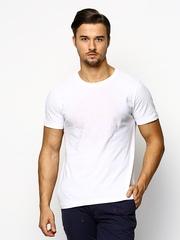 Jack & Jones Men White Printed T-shirt