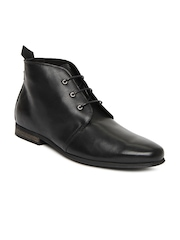 Jack & Jones Premium Men Black Semi-Formal Shoes