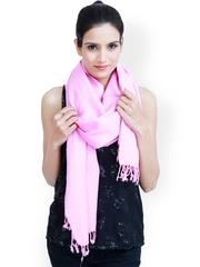 Jaipur Vogue Pink Woollen Shawl