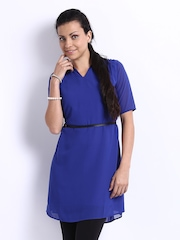 Jealous 21 Women Blue Tunic