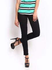 Jealous 21 Women Black Super Skinny Fit Jeans
