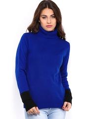 Jealous 21 Women Blue Sweater