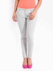 Jealous 21 Women Grey Trousers