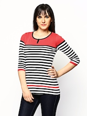 Jealous 21 Women Multicoloured Striped Top