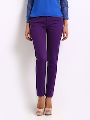 Jealous 21 Women Purple Hottie Ultra Slim Fit Jeans
