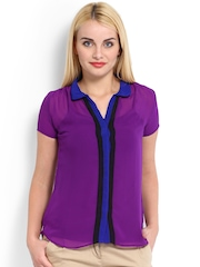 Jealous 21 Women Purple Top