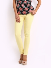 Jealous 21 Women Yellow Hottie Ultra Slim Fit Jeans