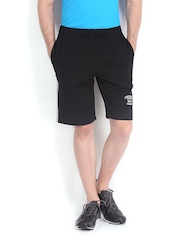 Men Black Shorts Jockey