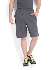 Men Charcoal Grey Shorts Jockey