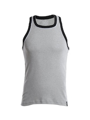 Jockey Men Grey Melange Innerwear Vest