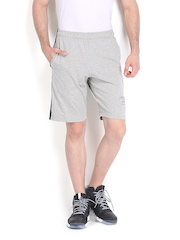 Men Grey Melange Shorts Jockey 516907