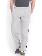 Jockey Men Grey Melange Modern Fit Track Pants