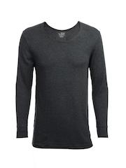 Jockey Men Grey Thermal T-shirt
