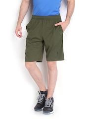 Men Olive Green Shorts Jockey